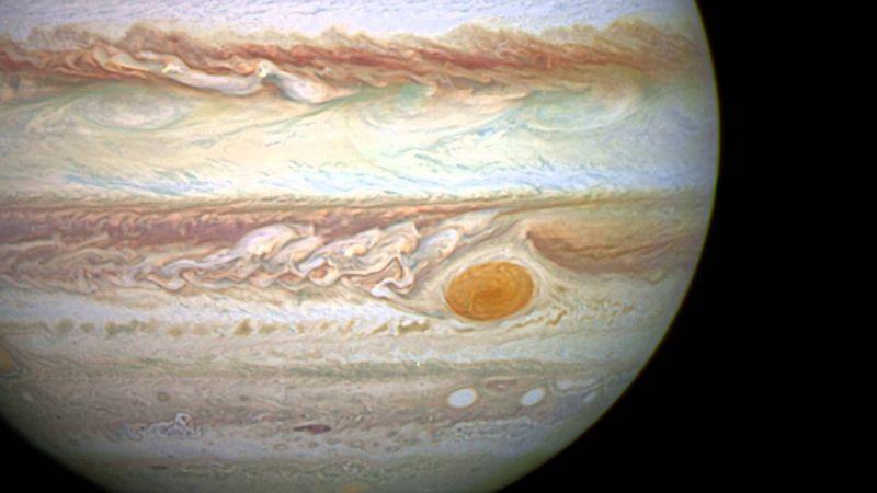 Большое красное пятно на Юпитере
