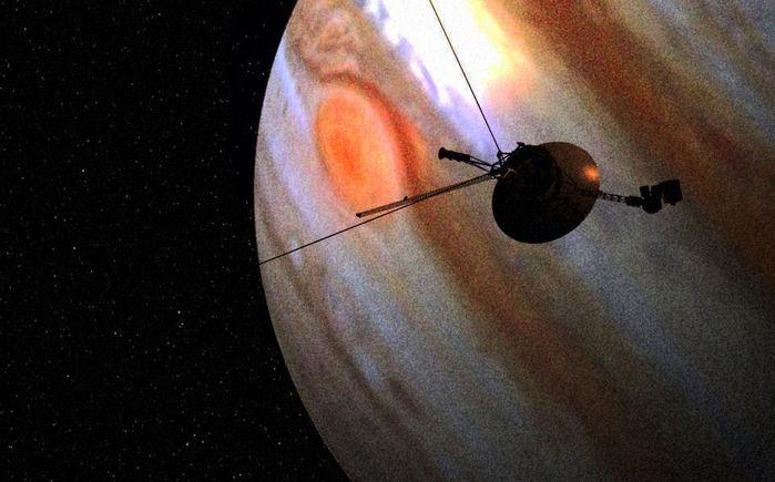 Вояджер у Юпитера