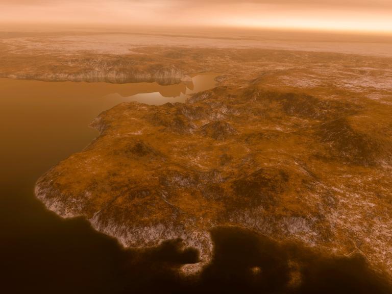 Титан - спутник Сатурна