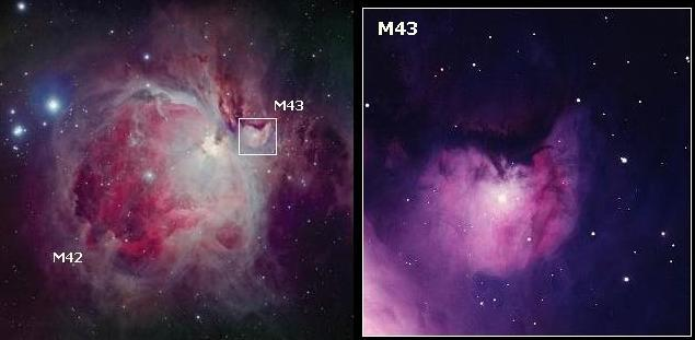 Туманность M43