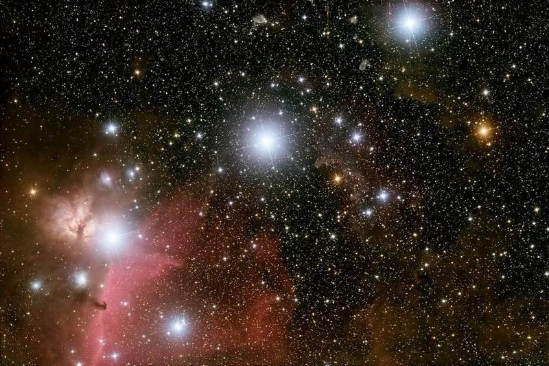 Звезды Пояса Ориона