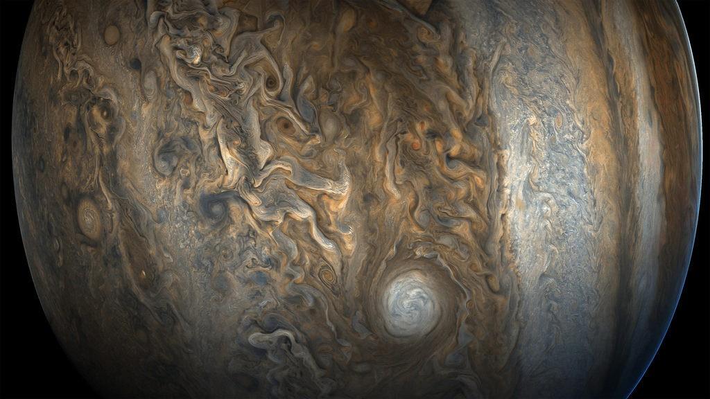 Великолепный снимок Юпитера