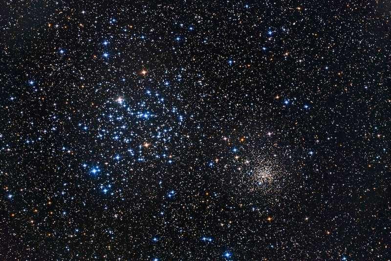 Рассеянные звездные скопления М35 и NGC 2158