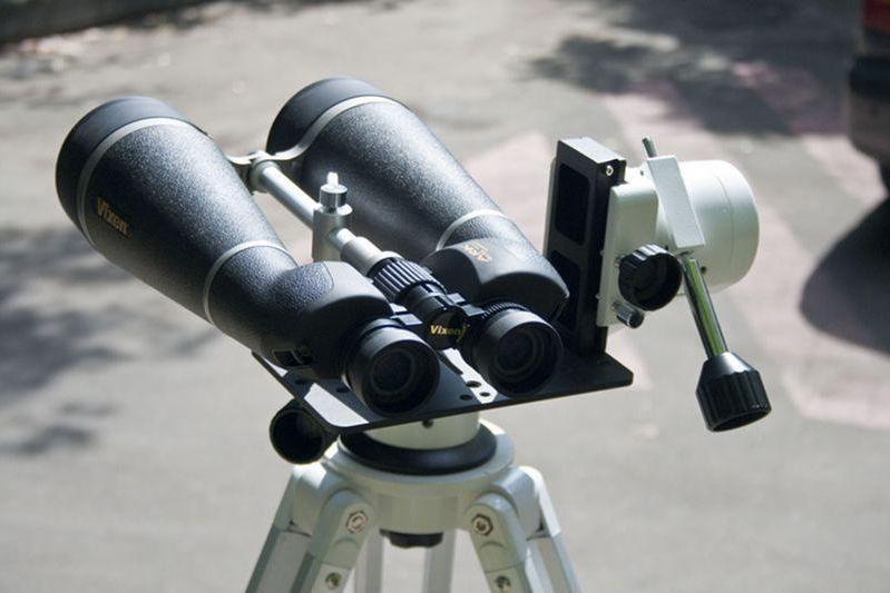 Астрономический бинокль, одна из моделей.