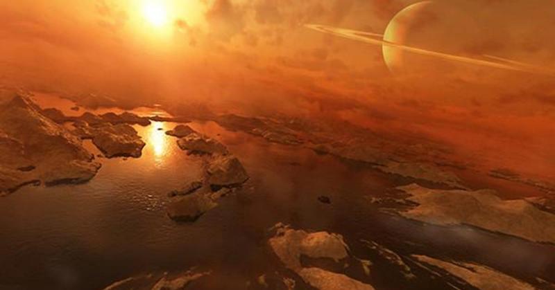 Небо Титана