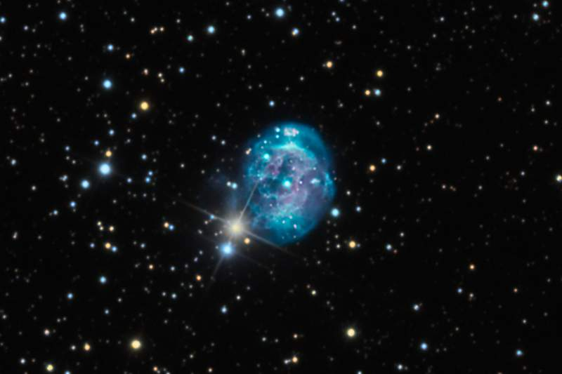 Планетарная туманность NGC 7008
