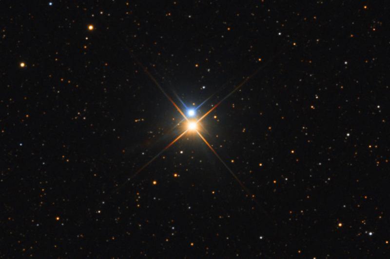 Двойная звезда Альбирео