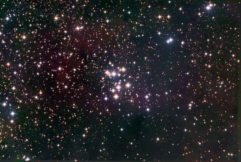 Рассеянное звездное скопление М29 в Лебеде