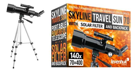 Телескоп Levenhuk Skyline Travel Sun
