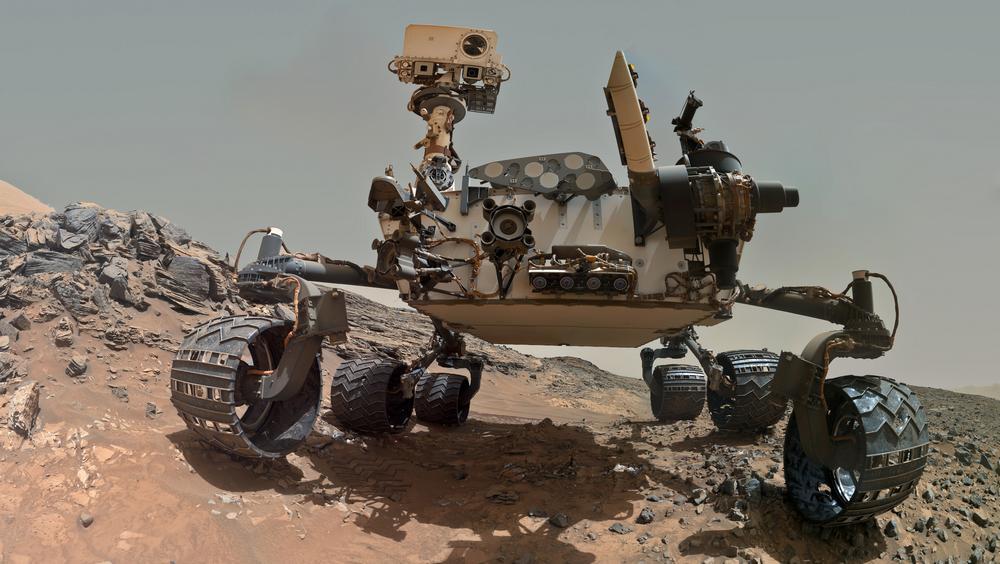 Марсоход Curiocity