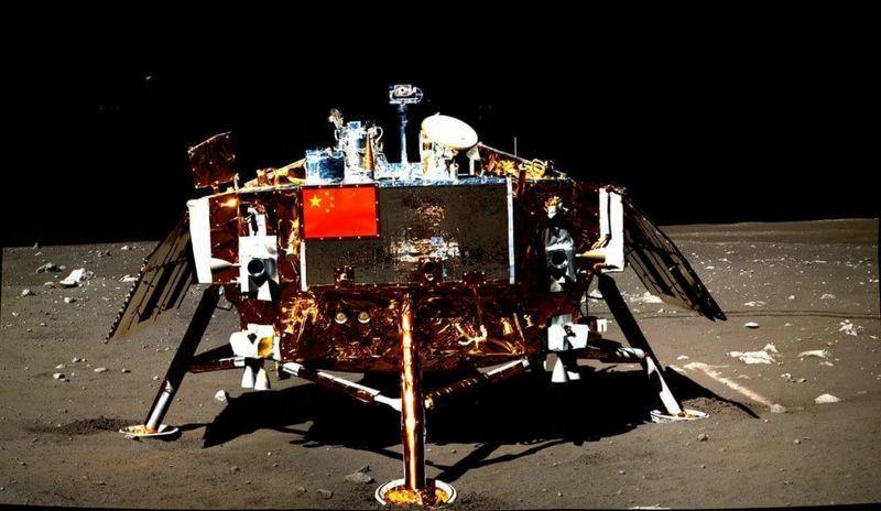 Спускаемый модуль миссии «Чанъэ-4»