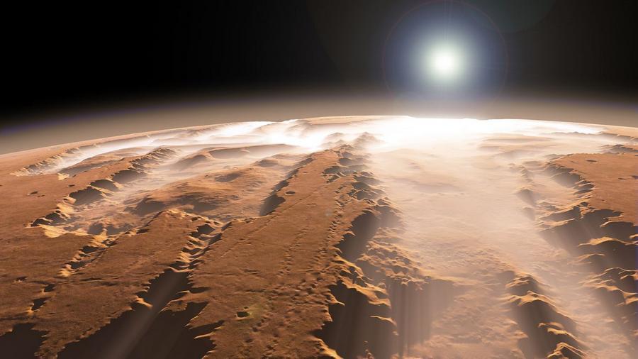 Долина Маринер - самый большой каньон в Солнечной системе.