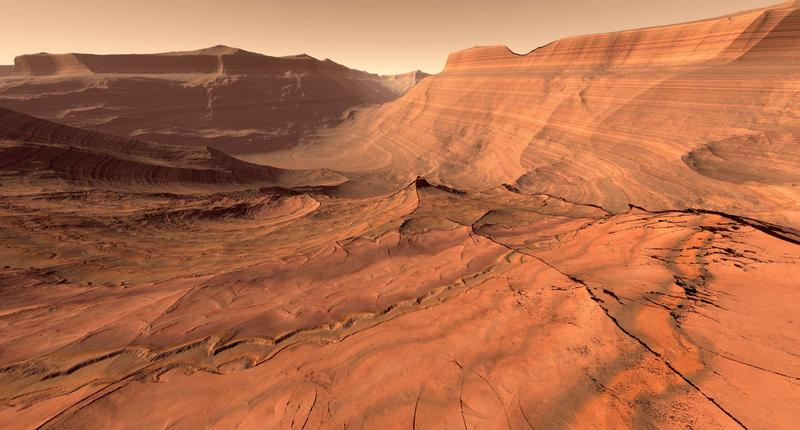 День на Марсе почти такой же, как на Земле.
