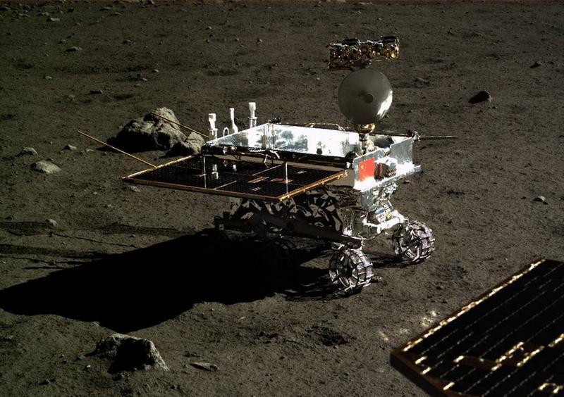 Ровер-луноход миссии «Чанъэ-4»