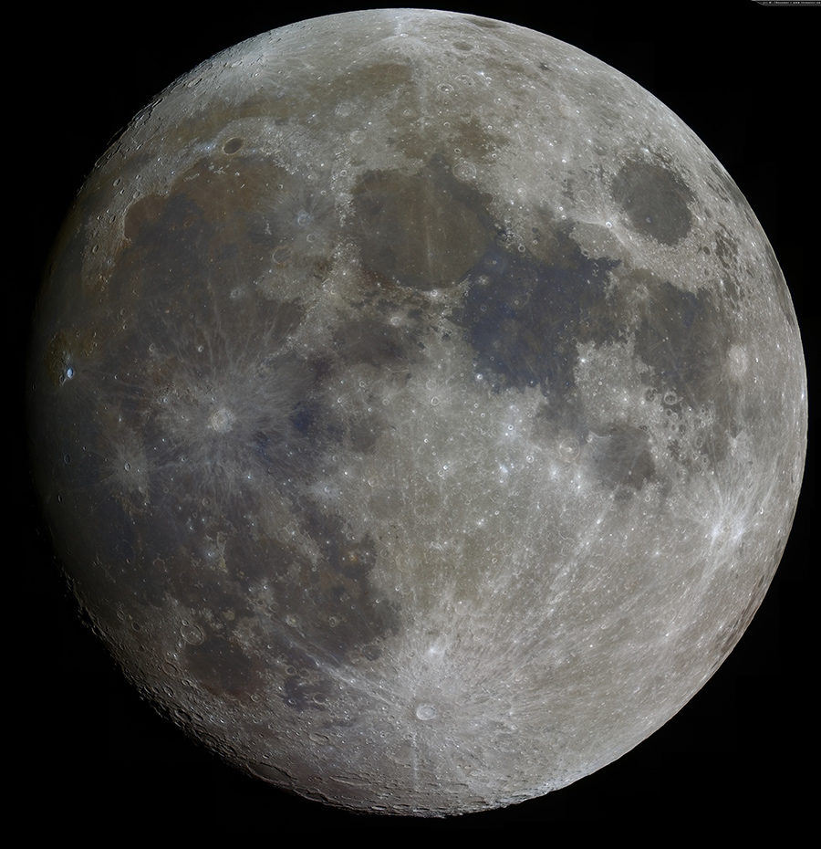 Любительское фото Луны