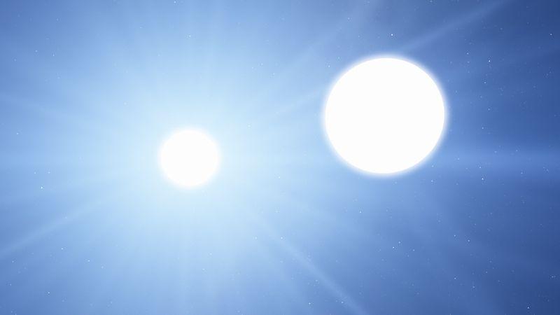 Система Спики, альфы созвездия Девы