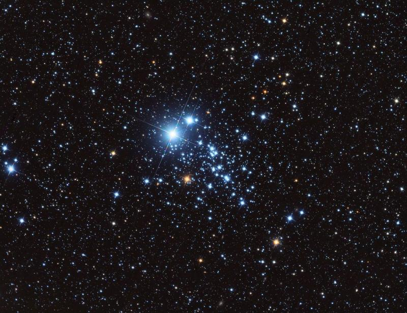 Рассеянное скопление NGC 457.