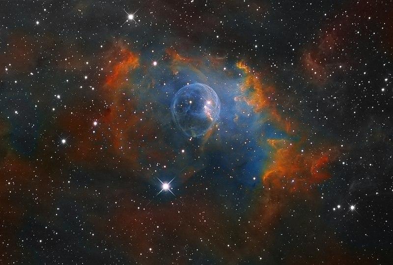 Туманность NGC 7635 - Пузырь