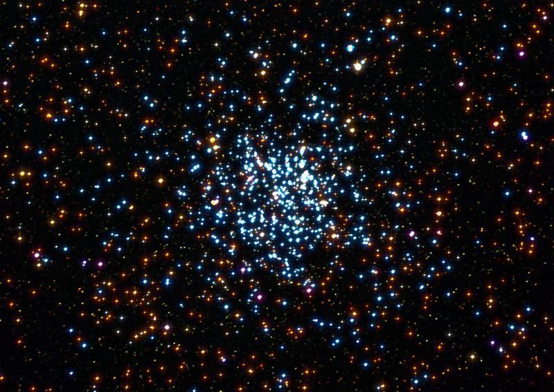 Рассеянное звёздное скопление NGC 7789