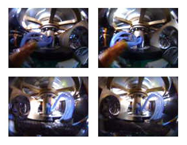 Внутренние отсеки Первое фото, присланное LightSail 2  перед развёртыванием солнечного паруса