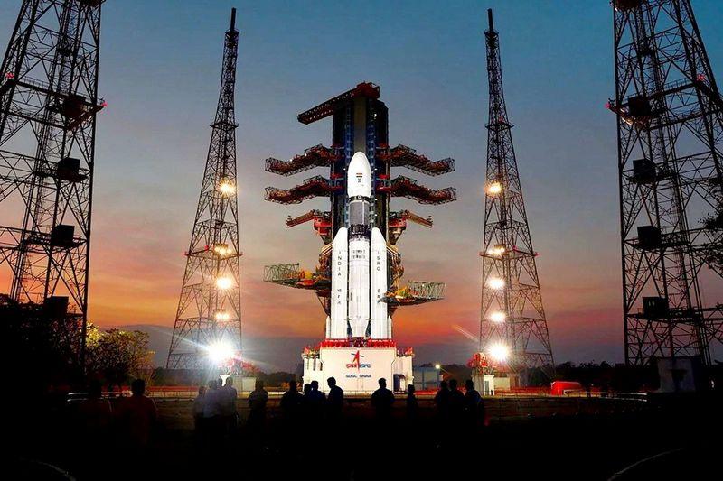 """Старт миссии """"Чандраян-2"""" перенесли из-за технического сбоя."""