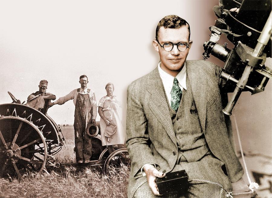 Клайд Томбо, американский астроном, открывший Плутон.