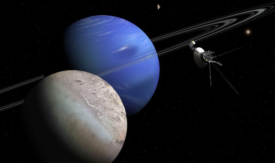 """Только """"Вояджер-2"""" побывал у Нептуна."""