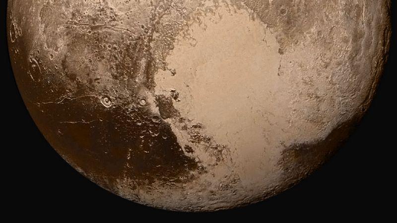 Сердце Плутона, или Область Томбо.