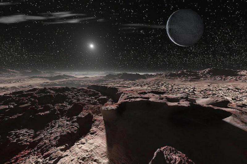 Есть ли жизнь на Плутоне?