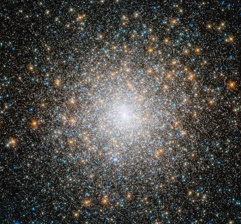 Шаровое звёздное скопление М15 в созвездии Пегас