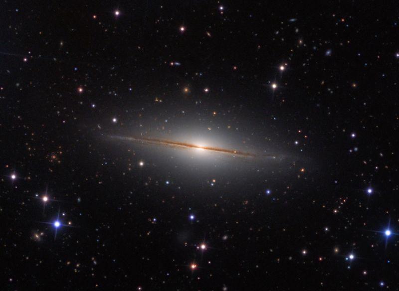 Галактика NGC 7814
