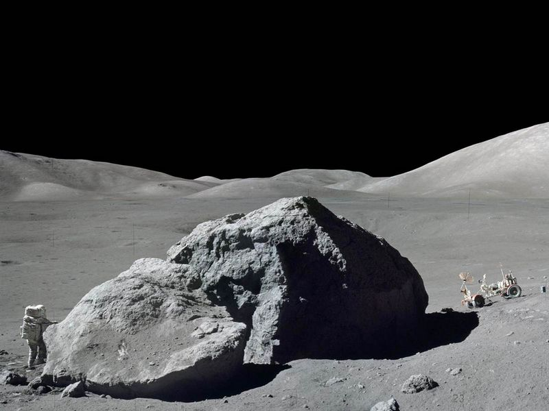 """Море Ясности на Луне. Миссия """"Аполлон-17"""""""