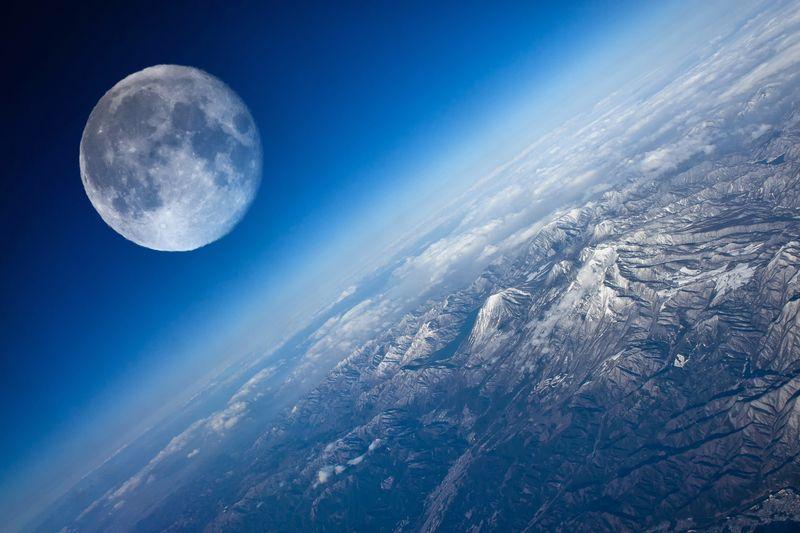 Как появилась Луна, до сих пор неизвестно точно.