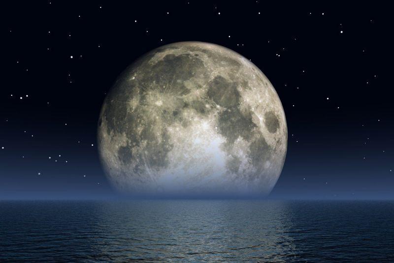 Моря на Луне - что это?
