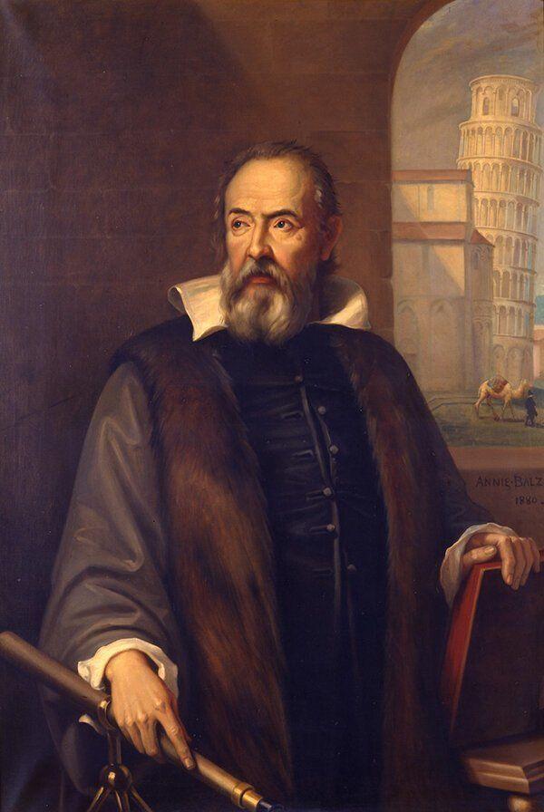 Галилео Галилей, первооткрыватель колец Сатурна.