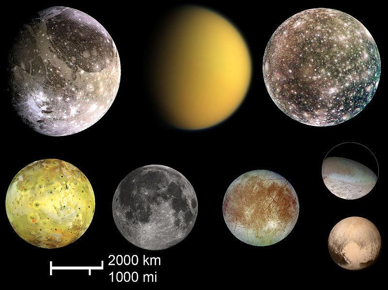 Самый большой спутник Солнечной системы
