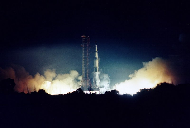 "Старт миссии ""Аполлон-17"""