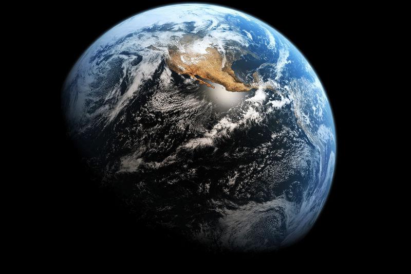 """Земля - """"голубая планета""""."""