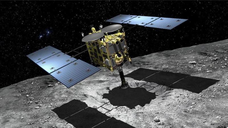 """Японский зонд """"Хаябуса-2"""" был запущен 3 декабря 2014 года."""