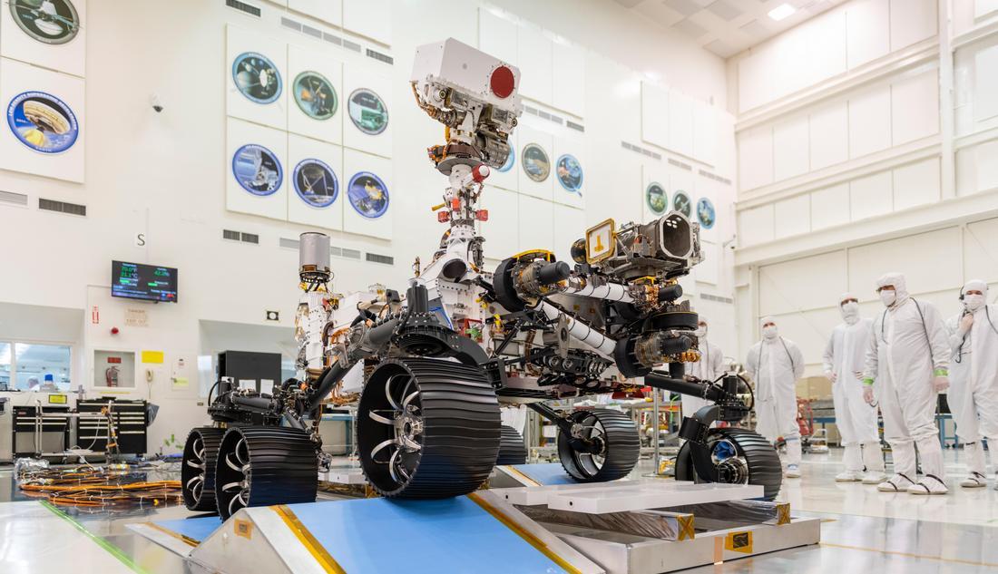 Тестовый заезд Mars 2020