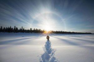 Зимнее солнцестояние - самый короткий день