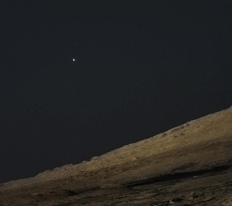 Фобос, вид с Марса.