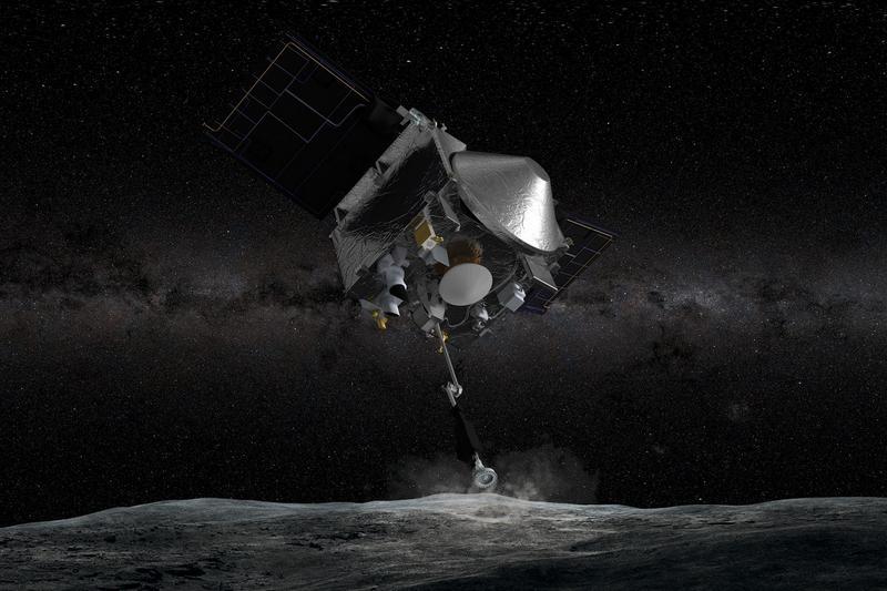 Станция OSIRIS-Rex сделала подробную карту астероида Бенну