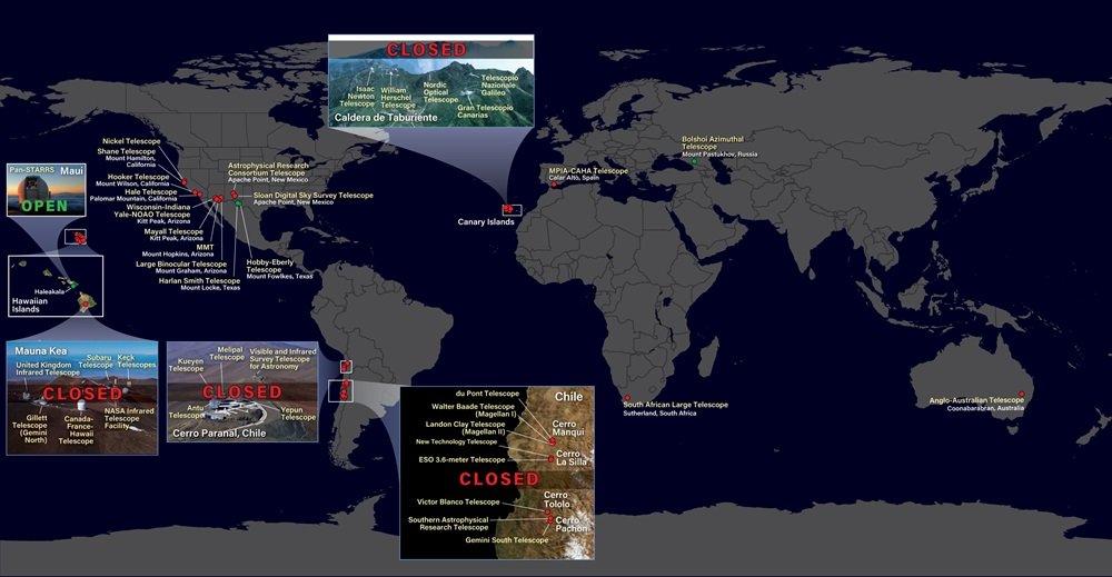 Крупнейшие обсерватории мира