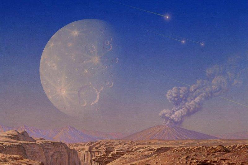 Почему Луна всегда повёрнута к Земле одной стороной