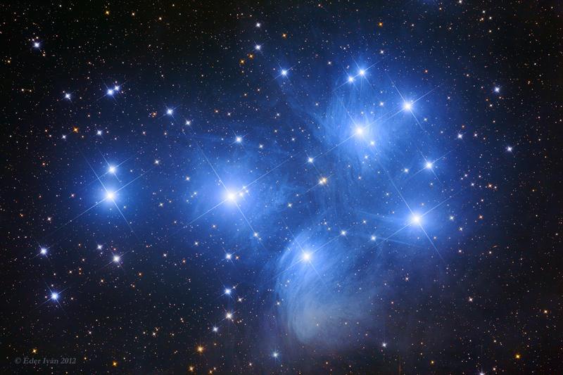 Звёздное скопление Плеяды