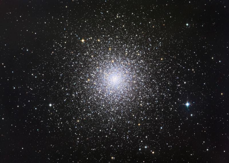 Шаровое скопление М3 в созвездии Гончих Псов